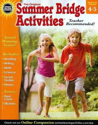 Summer Bridge Activities &#153 Grade 4 to 5  -