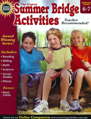 Summer Bridge Activities &#153 Grade 6 to 7  -