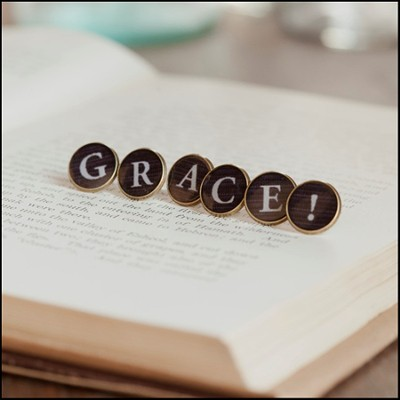 Redeemed Collection, Grace Studs   -