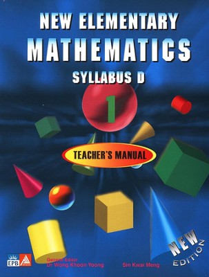 Singapore Math New Elementary Math Teacher Manual Textbook 1, Gr 7   -