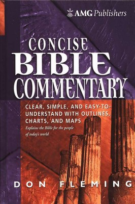 AMG's Concise Bible Commentary  -     By: Don Fleming