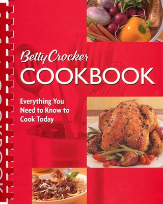 Betty Crocker Cookbook: Everything You Need to Know to - Slightly Imperfect  -