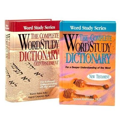 The Complete Word Study Old and New Testament Dictionary Set, 2 Volumes  -     By: Spiros Zodhiates, Warren Baker, E. Carpenter