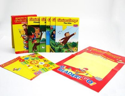 Reading Fun with Curious George Boxed Set (boxed set)  -     By: H.A. Rey