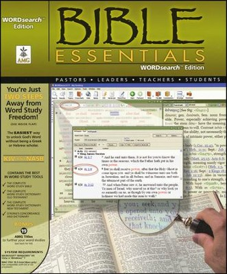 Bible Essentials, Word Search Bible Explorer Software, CDROM  -     By: PC Bible Software