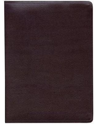 Key Word Study Bible KJV (2008 new edition), Genuine Burgundy Leather - Slightly Imperfect  -