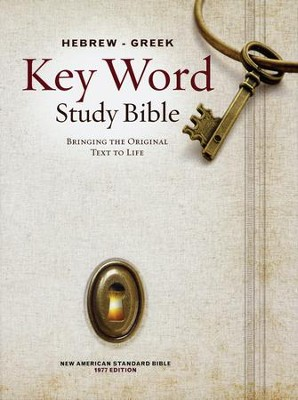 Key Word Study Bible NASB (2008 new edition), Hardcover   -     By: Spiros Zodhiates