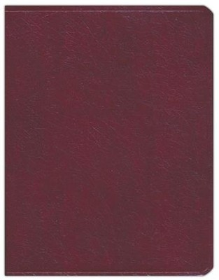 Key Word Study Bible NASB (2008 new edition), Genuine Burgundy Leather  -