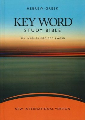 NIV Hebrew-Greek Key Word Study Bible, Hardcover 1984  -     Edited By: Spiros Zodhiates     By: Warren Baker