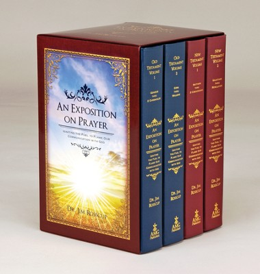 An Exposition on Prayer: Igniting the Fuel to Flame Our Communication with God, 4-Volume Set  -     By: James Rosscup