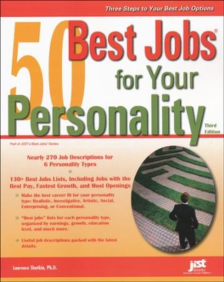 50 Best Jobs for Your Personality, Third Edition   -     By: Laurence Shatkin Ph.D.
