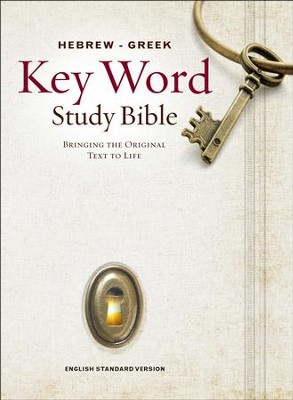 ESV Key Word Study Bible, Hardcover  -