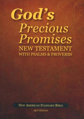 God's Precious Promises New Testament: New American Standard Bible  -