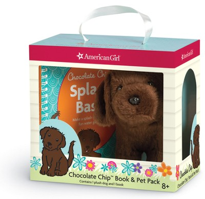 Chocolate Chip Book & Pet Pack  -