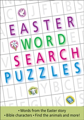 Easter Word Search Puzzle Book  -