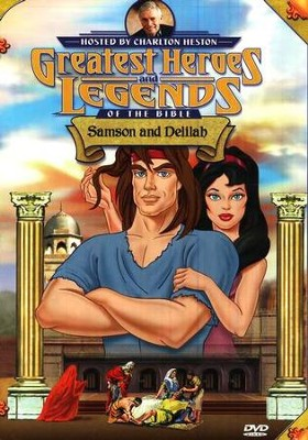 Samson and Delilah,  Greatest Heroes and Legends of the Bible DVD  -
