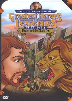 Daniel and the Lions' Den,  Greatest Heroes and Legends of the Bible DVD  -