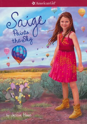 #2: Saige Paints the Sky  -     By: Jessie Haas