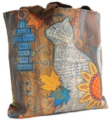 Hope, I Once Was Lost Tote Bag  -     By: Annie Lapoint