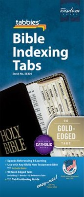 Bible Tabbies, Catholic Gold   -