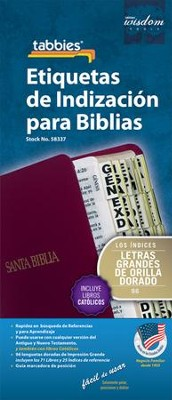 Bible Tabbies, Spanish, Large Print   -