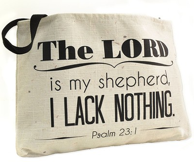 The Lord Is My Shepherd Tote Bag  -