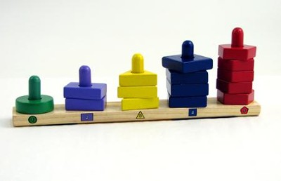 Stack and Sort Board  -     By: Melissa & Doug