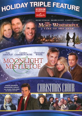 The Most Wonderful Time of the Year/Moonlight & Mistletoe/The Christmas Choir, Triple Feature DVD  -