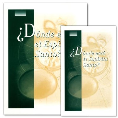 ¿Dónde está el Espíritu Santo? Where Is The  Holy Spirit? Study Kit  -