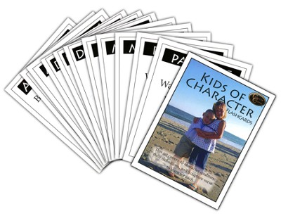 Kids of Character Bible Study Flashcards   -     By: Marilyn Boyer