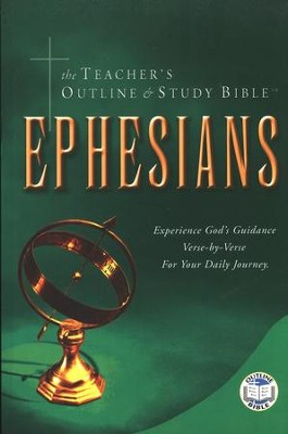Teacher's Outline & Study Bible KJV: Ephesians    -