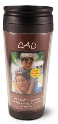 Dad Photo Mug Travel Tumbler  -