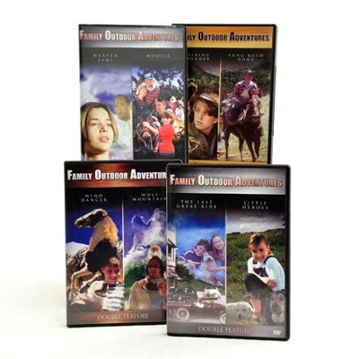 Family Outdoor Adventures (8 Movies)   -