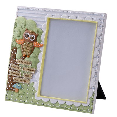 May Blessings Guide You As You Grow, Owl, Photo Frame  -
