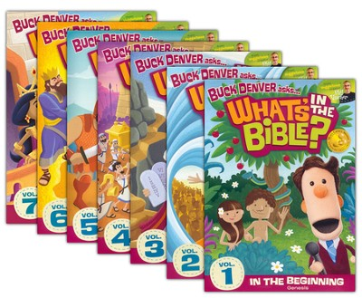 What's in the Bible? 1-7, DVD Set   -