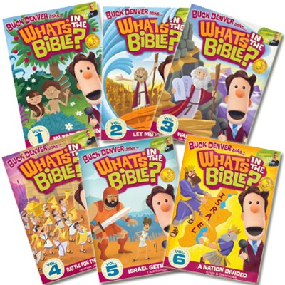 What's in the Bible? 6 DVDs   -     By: Phil Vischer