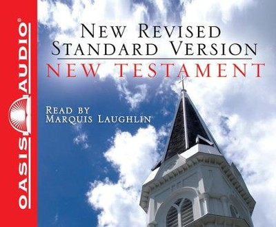 New Revised Standard Version New Testament - audiobook on CD  -