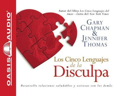 Los Cinco Lenguajes de la Disculpa, Audiolibro  (The Five Languages of Apology, Audiobook), CD  -     Narrated By: Gary Chapman     By: Gary Chapman, Jennifer Thomas