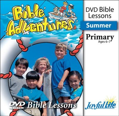 Bible Adventures Primary (Grades 1-2) Bible Lesson DVD   -