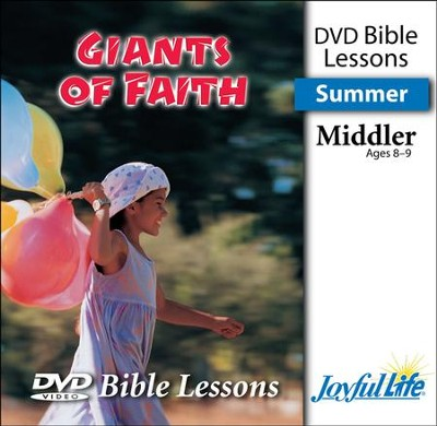 Giants of Faith Middler (Grades 3-4) Bible Lesson DVD   -