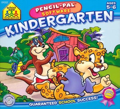 Kindergarten Pencil-Pal Software Mini Box Ages 5-6   -