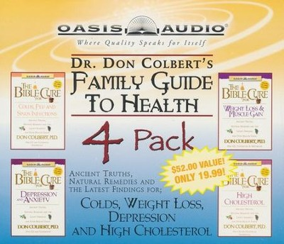 Dr. Colbert Family Guide to Health - audiobook on CD  -     By: Don Colbert M.D.