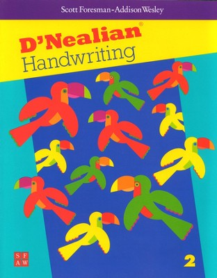 D'Nealian Handwriting Book 2  -