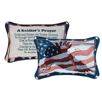 A Soldiers Prayer Pillow  -