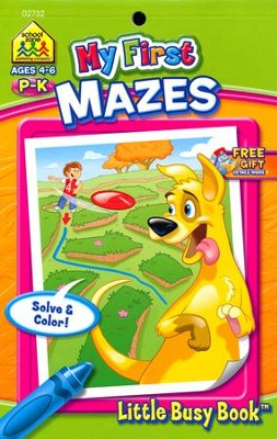 My First Mazes Grades PreK-K Ages 4-6  -