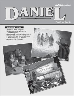 Extra Daniel Bible Story Lesson Guide   -
