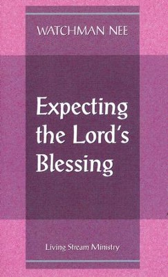 Expecting the Lord's Blessing 10/Package   -     By: Watchman Nee