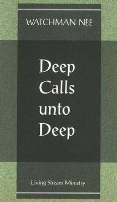 Deep Calls To The Deep  10/Package   -     By: Watchman Nee