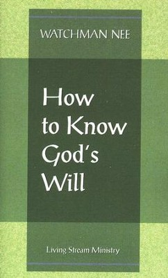How to Know God's Will  10/Package   -     By: Watchman Nee