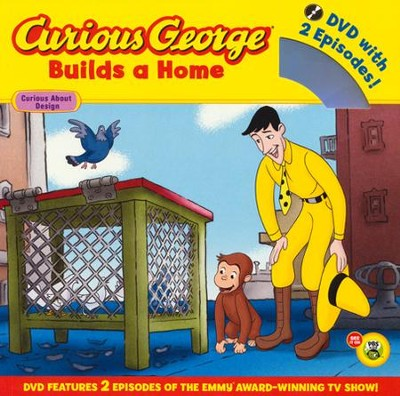 Curious George Builds a Home Book and DVD  -     By: H.A. Rey